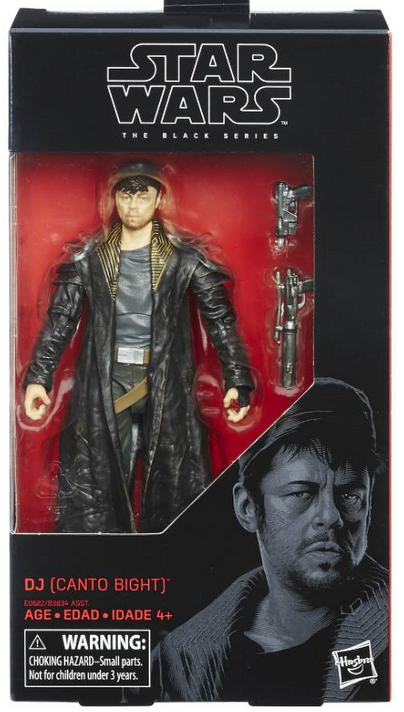 Star Wars Black Series Dj (Canto Bight) #57 Action Figure