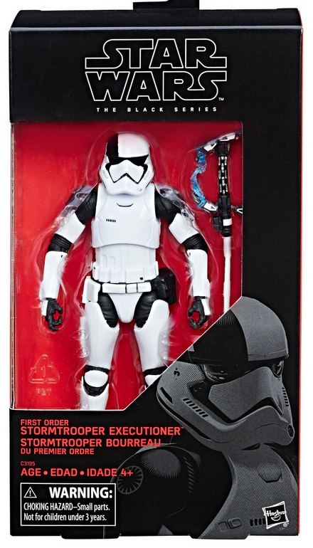 Star Wars Black Series Exclusive First Order Executioner Stormtrooper Takara Tomy Action Figure