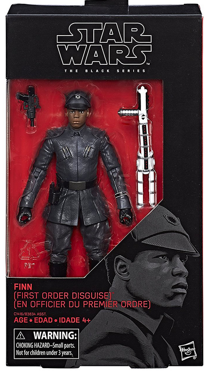 Star Wars Black Series Finn First Order Disguise #51 Action Figure
