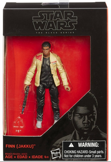 Star Wars Black Series Finn Jakku Action Figure