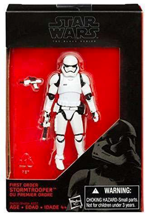 Star Wars Black Series First Order Stomtrooper Action Figure