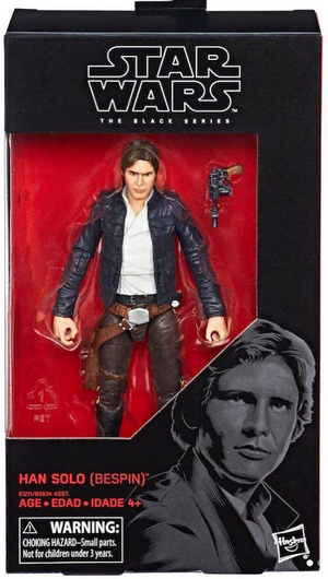 Star Wars Black Series Han Solo Bespin #70 Action Figure