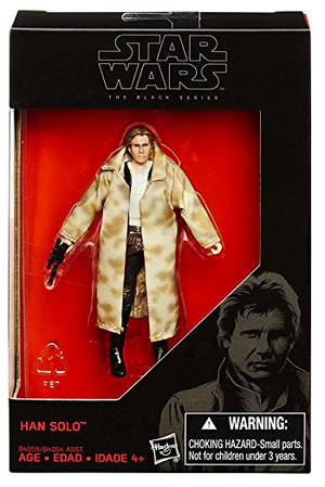 Star Wars Black Series Han Solo Endor Action Figure