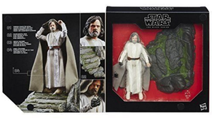 Star Wars Black Series Exclusive Luke Skywalker Jedi Master Ahch-To Island Takara Tomy Box Set Action Figure