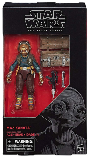 Damaged Packaging Star Wars Black Series Maz Kanata #49 Action Figure