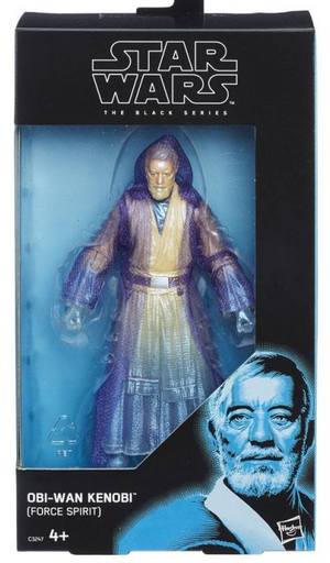 Star Wars Black Series Exclusive Obi-Wan Kenobi Force Spirit Takara Tomy Action Figure