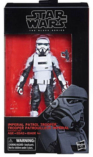 Star Wars Black Series Imperial Patrol Trooper #72 Action Figure