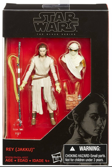 Star Wars Black Series Rey Jakku Action Figure