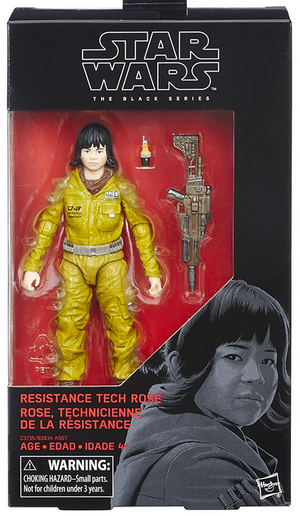 Star Wars Black Series Resistance Tech Rose #55 Action Figure