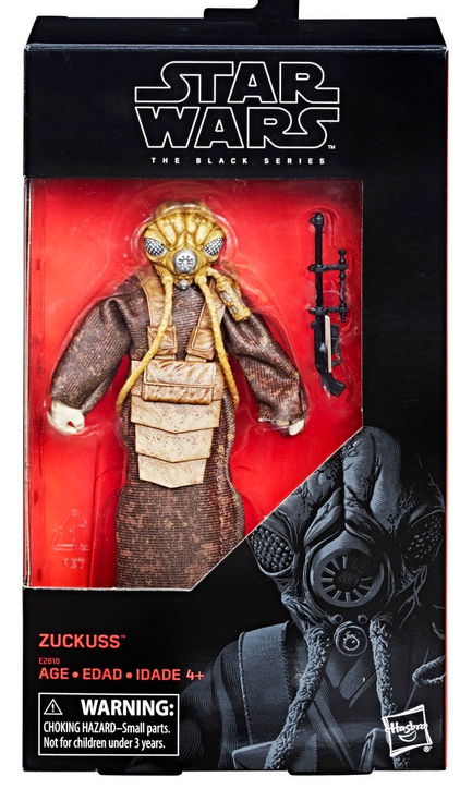 Star Wars Black Series Exclusive Zuckuss Action Figure