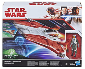 Star Wars The Last Jedi Exclusive Resistance Red Squadron A-Wing Fighter 2.0 3.75 Inch Pre-Order