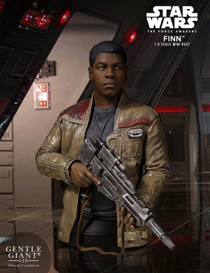 Star Wars Gentle Giant Force Awakens Finn Mini Bust