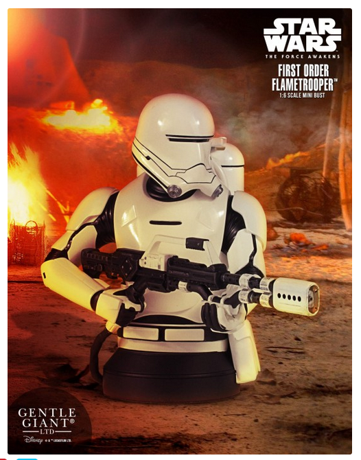 Star Wars Gentle Giant Mini-Bust First Order Flametrooper