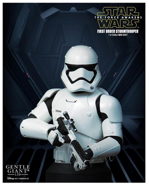 Star Wars Gentle Giant Mini-Bust First Order Stormtrooper