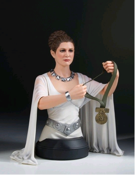 Star Wars Gentle Giant Princess Leia Yavin Ceremonial Mini Bust