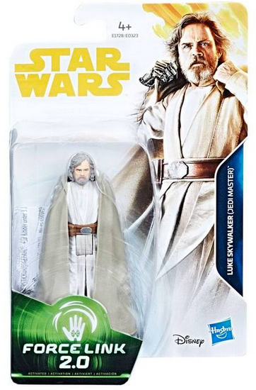 Star Wars Solo Wave 1 Luke Skywalker Jedi Master Movie 3.75 Inch