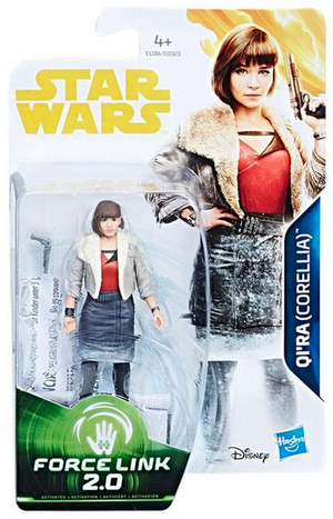 Star Wars Solo Wave 1 Qi'ra Corellia Movie 3.75 Inch