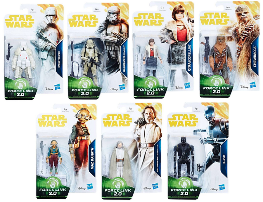 Star Wars Han Solo Set Of 7 Movie 3.75 Inch