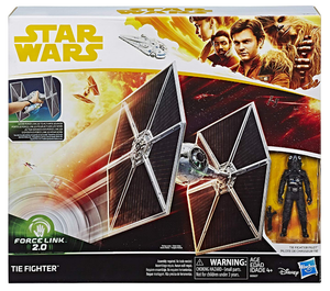 Star Wars Solo Imperial Tie Fighter W/Tie Pilot 3.75 Inch