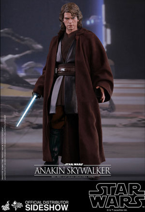 Star Wars Hot Toys Anakin Skywalker 1:6 Scale Action Figure HOTMMS437