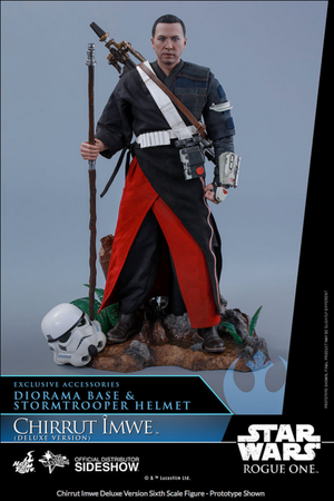 Star Wars Hot Toys Rogue One Deluxe Chirrut Imwe 1:6 Scale Action Figure HOTMMS403