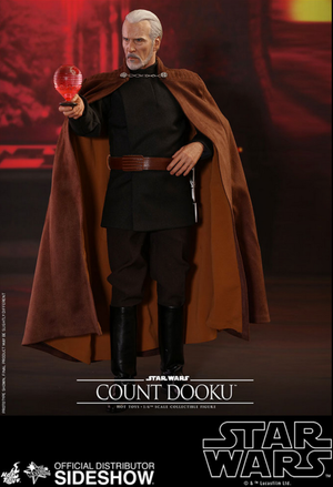 Star Wars Hot Toys Count Dooku 1:6 Scale Action Figure HOTMMS496 Pre-Order