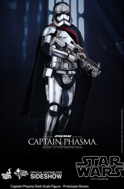 Star Wars Hot Toys Force Awakens Captain Phasma 1:6 Scale Action Figure HOTMMS328