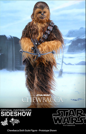 Star Wars Hot Toys Force Awakens Chewbacca 1:6 Scale Action Figure HOTMMS375