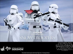 Star Wars Hot Toys First Order Snowtrooper Set 1:6 Scale Action Figure HOTMMS323