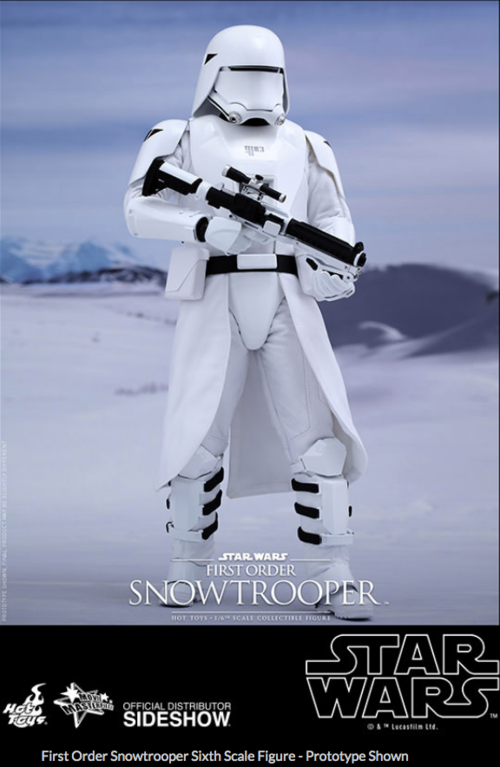 Star Wars Hot Toys First Order Snowtrooper 1:6 Scale Action Figure HOTMMS321