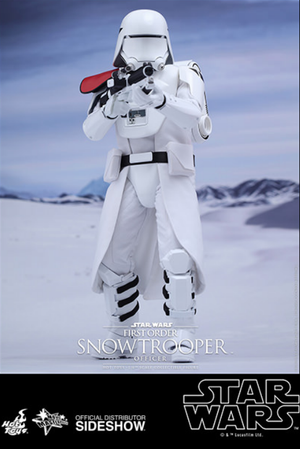 Star Wars Hot Toys First Order Snowtrooper Officer 1:6 Scale Action Figure MMS322