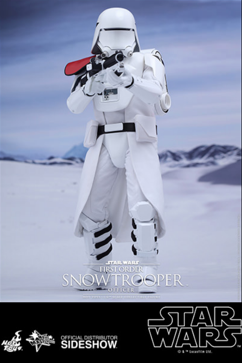 Star Wars Hot Toys First Order Snowtrooper Officer 1:6 Scale Action Figure HOTMMS322