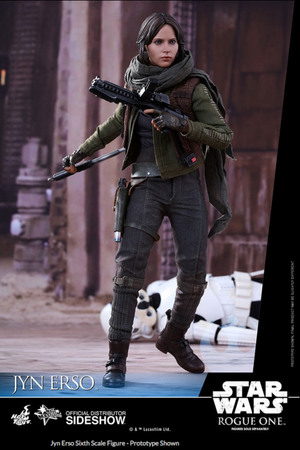 Star Wars Hot Toys Rogue One Jyn Erso 1:6 Scale Action Figure HOTMMS404