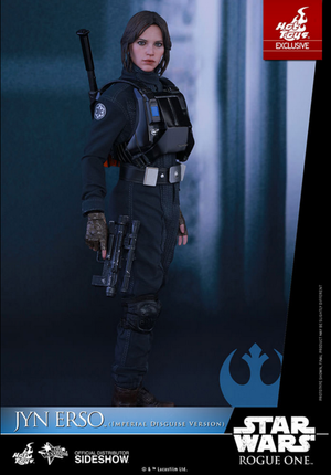 Star Wars Hot Toys Rogue One Exclusive Imperial Disguise Jyn Erso 1:6 Scale Action Figure HOTMMS405