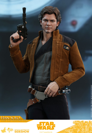 Star Wars Hot Toys Solo Han Solo 1:6 Scale Action Figure HOTMMS491 Pre-Order