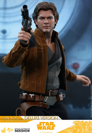 Star Wars Hot Toys Solo Han Solo Deluxe Version 1:6 Scale Action Figure MMS492 Pre-Order