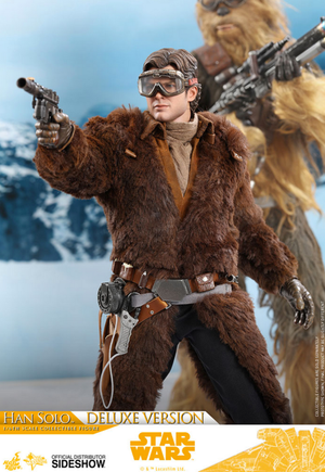 Star Wars Hot Toys Solo Han Solo Deluxe Version 1:6 Scale Action Figure HOTMMS492 Pre-Order