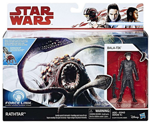 Star Wars The Last Jedi Bala-Tik & Rathtar 2 Pack 3.75 Inch