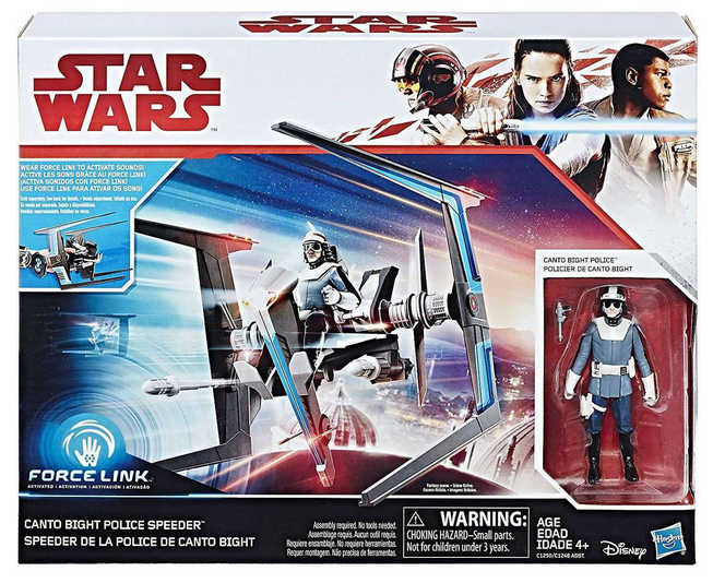 Star Wars The Last Jedi Canto Bight Police Speeder 3.75 Inch