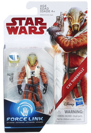Damaged Packaging Star Wars The Last Jedi C'ai Threnalli 3.75 Inch