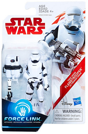 Star Wars The Last Jedi First Order Flametrooper 3.75 Inch