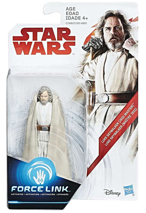 Damaged Packaging Star Wars The Last Jedi Luke Skywalker Jedi Master 3.75 Inch