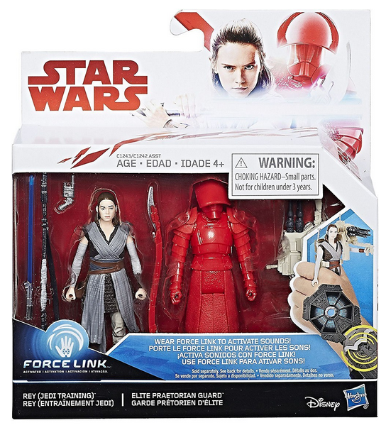 Star Wars The Last Jedi Rey Training & Elite Praetorian Guard 2 Pack 3.75 Inch