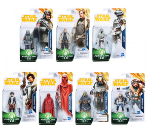 Star Wars Han Solo Wave 4 Set Of 7 Movie 3.75 Inch Action Figure