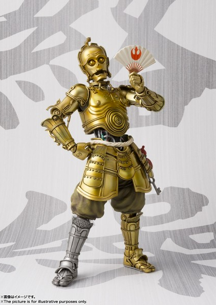 Star Wars Bandai Tamashii Nations Meisho Honyaku Karakuri C-3PO Movie Realization Action Figure Pre-Order