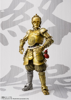 Star Wars Bandai Tamashii Nations Meisho Honyaku Karakuri C-3PO Movie Realization Action Figure