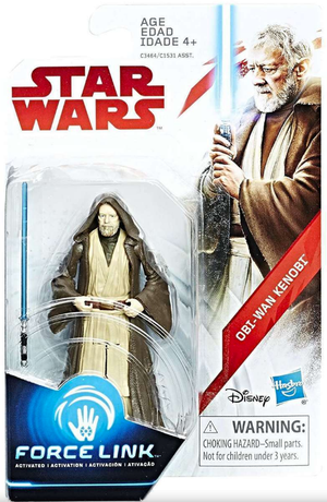 Star Wars The Last Jedi Obi-Wan Kenobi 3.75 Inch Action Figure