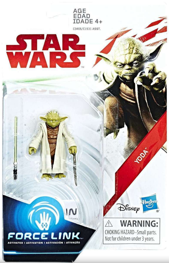Star Wars The Last Jedi Yoda 3.75 Inch Action Figure