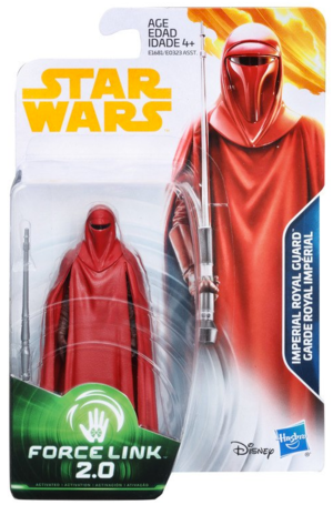 Star Wars Han Solo Wave 4 Imperial Royal Guard 3.75 Inch Action Figure