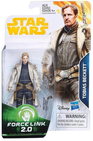 Star Wars Han Solo Wave 4 Tobias Beckett 3.75 Inch Action Figure